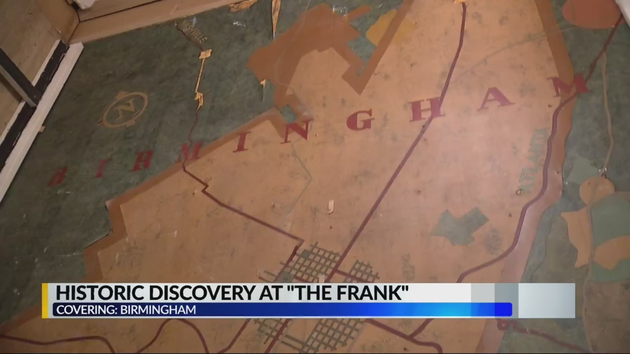 Can you solve the map mystery at The Frank?