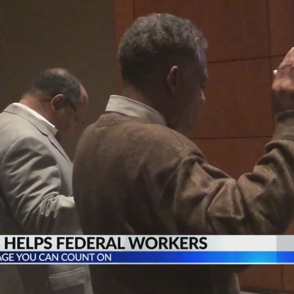 Church helps federal workers