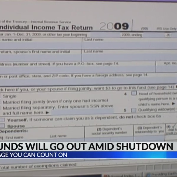 Don't worry, tax refunds will go out despite shutdown