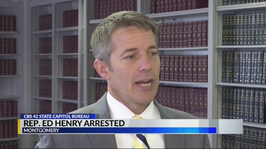 Former Alabama state Rep  Ed Henry to plead guilty in
