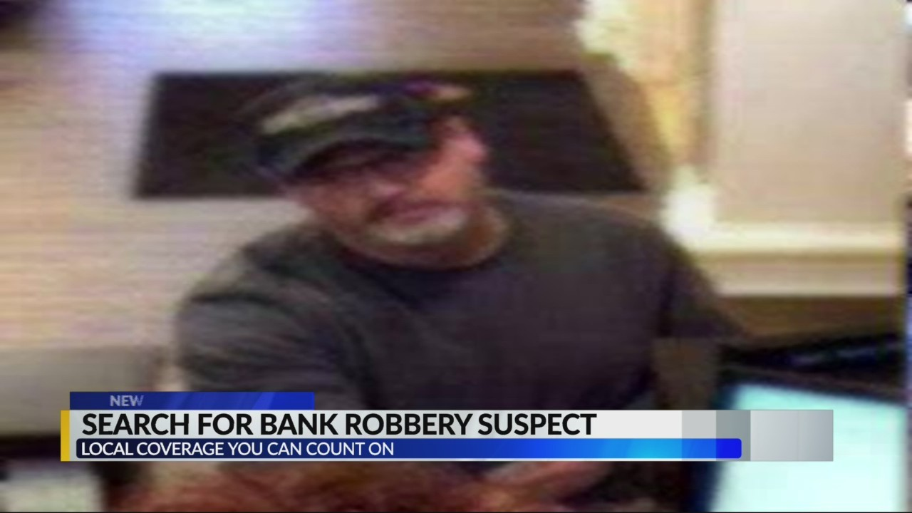 FBI searching for bank robber