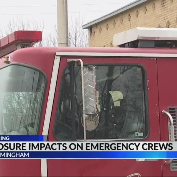 First responders prepare for I-20/59 bridge closure