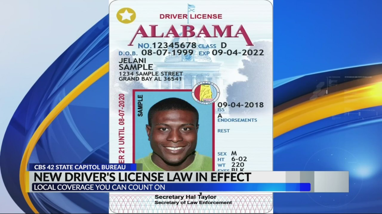 Alabama Law Enforcement Agency Driver S License Division