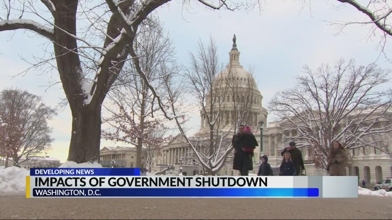 Impacts of government shutdown