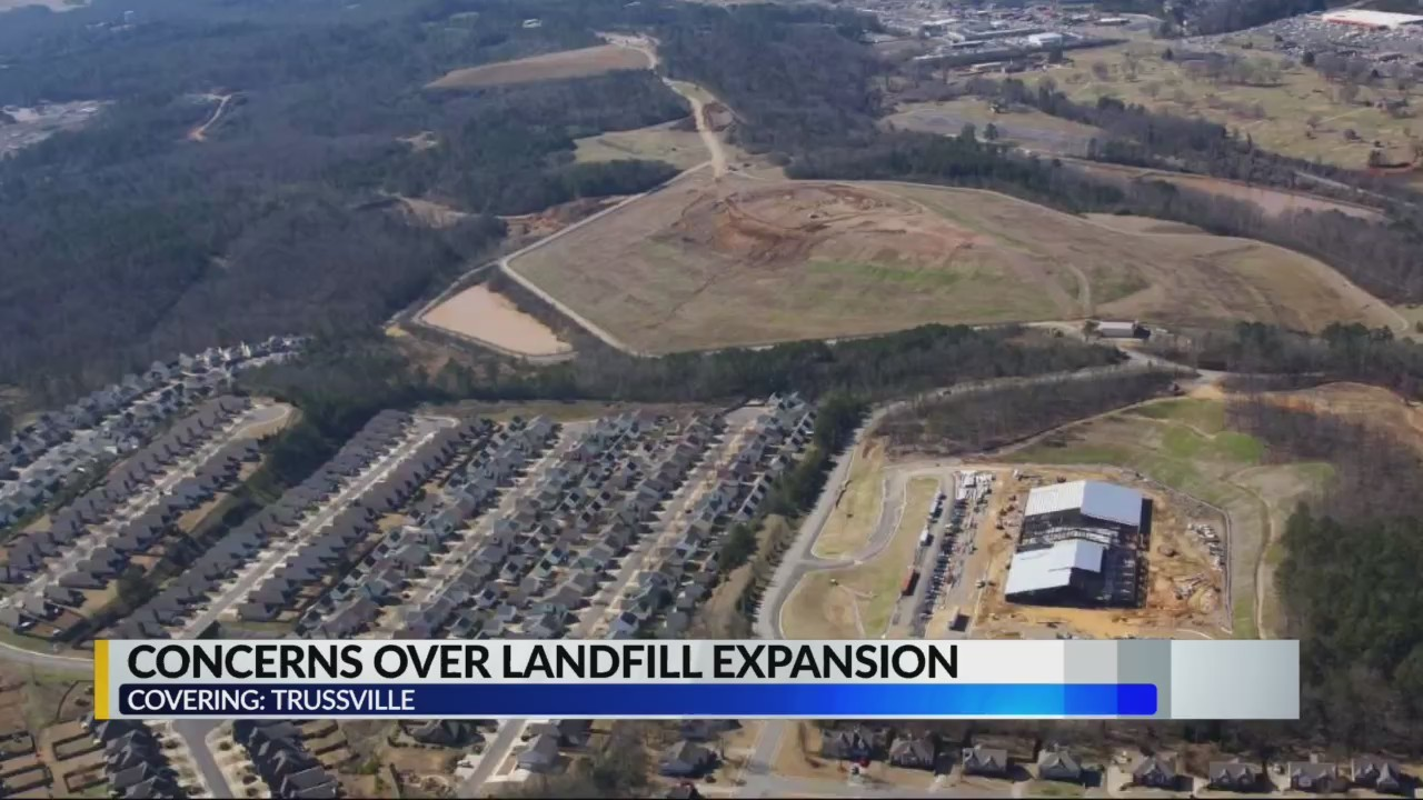Landfill expansion concerns in Trussville