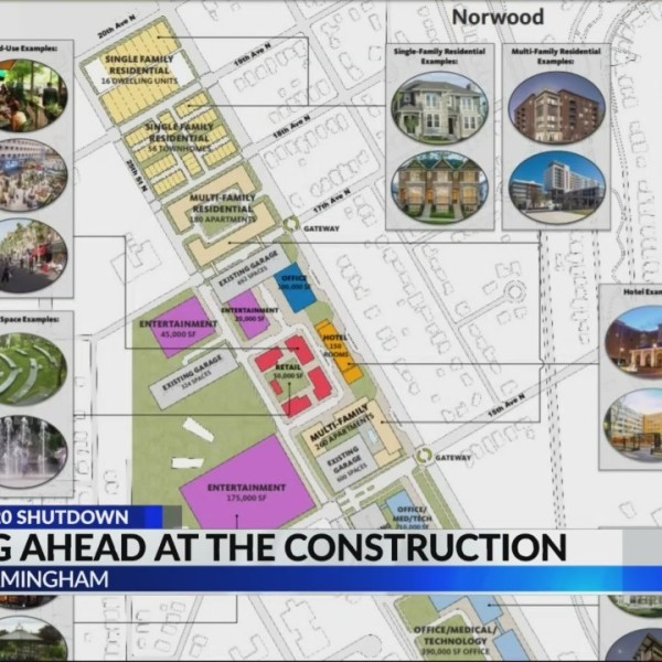 Looking ahead at the construction in North Birmingham