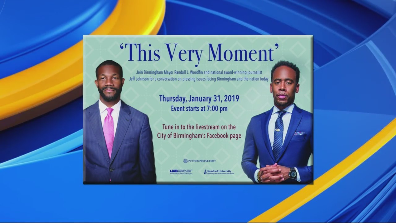 """Mayor Randall Woodfin and """"This Very Moment"""""""