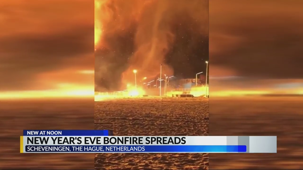 New Year's Eve Bonfire spreads