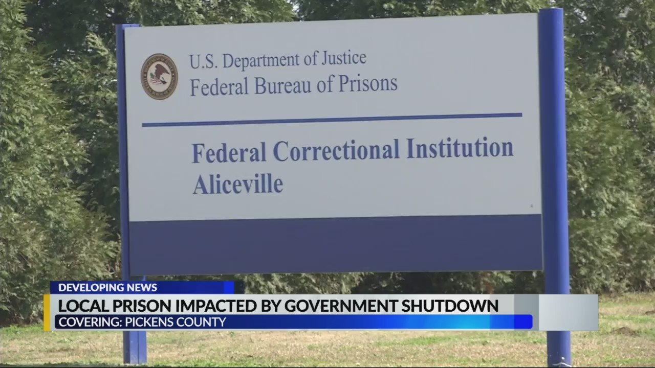 Pickens County prison impacted by government shutdown