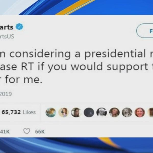 Pop Tarts announces its presidential run in 2020