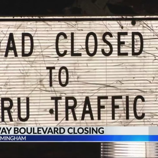 Portions of Carraway Boulevard Closing