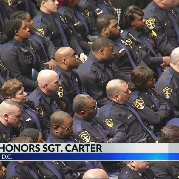 Rep. Sewell remembers Sgt.Carter