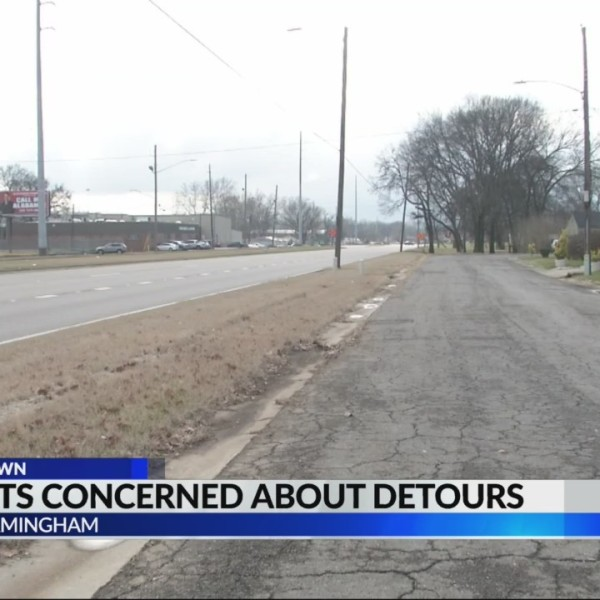 Residents concerned about I-59/20 detours