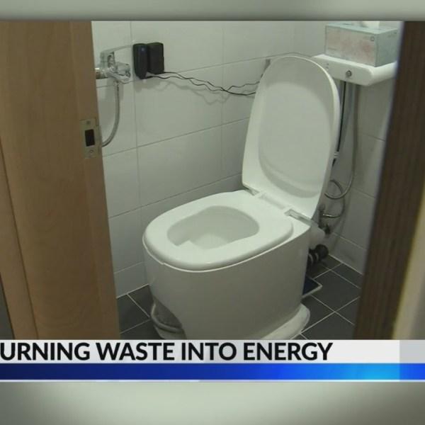 Toilet turns human waste into energy