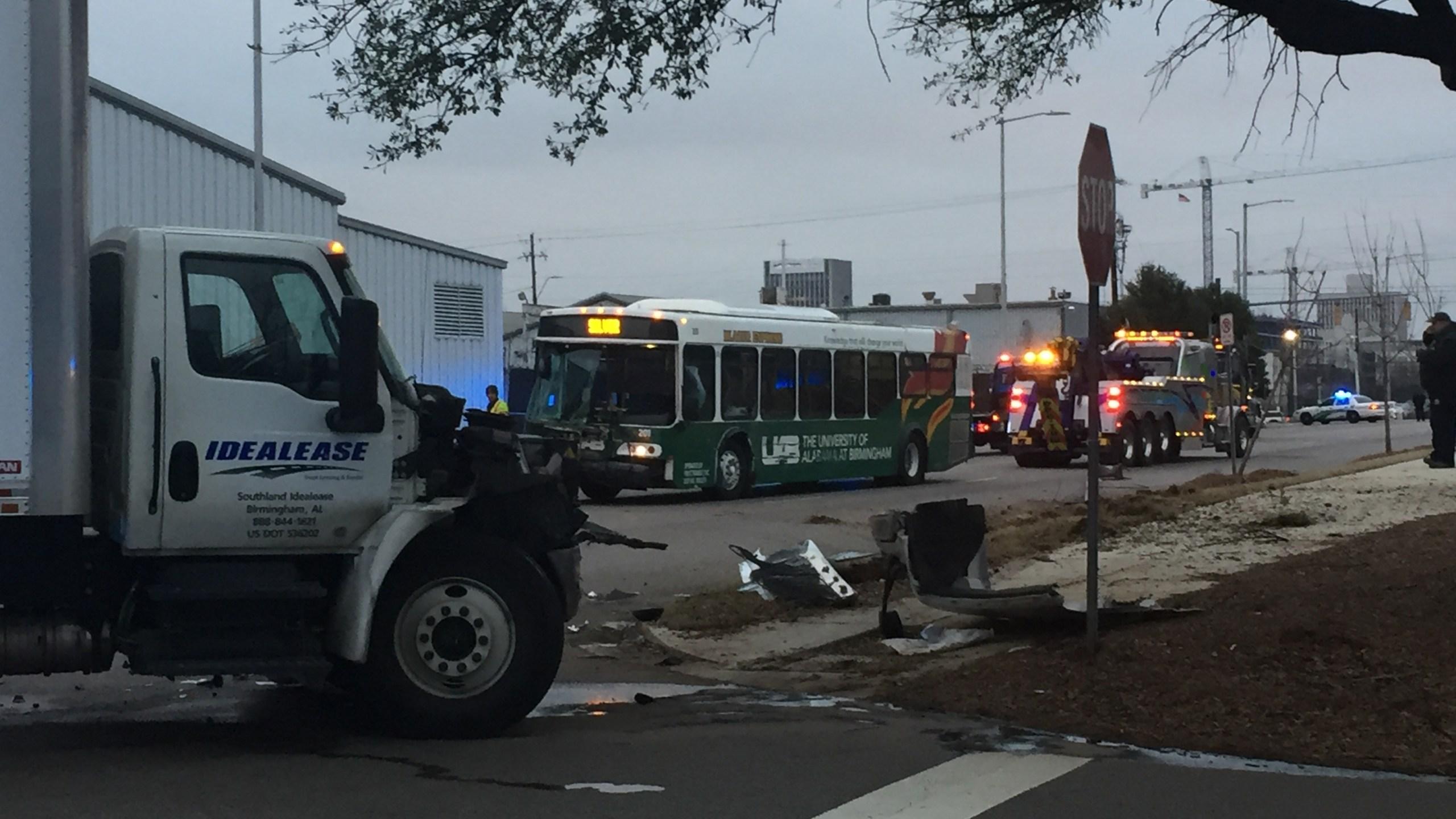 UAB bus accident minor