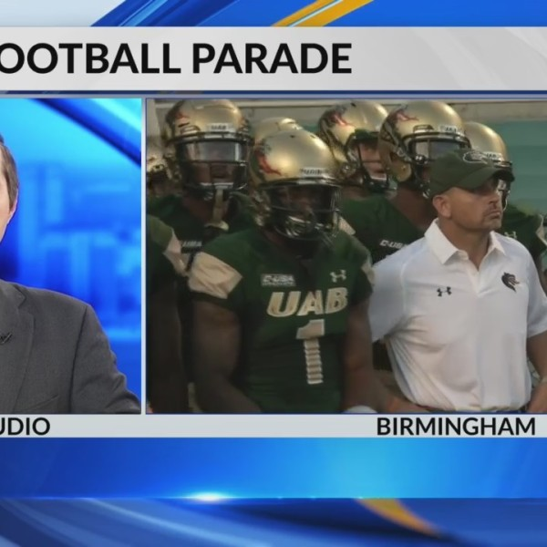 UAB earns parade and very own football day