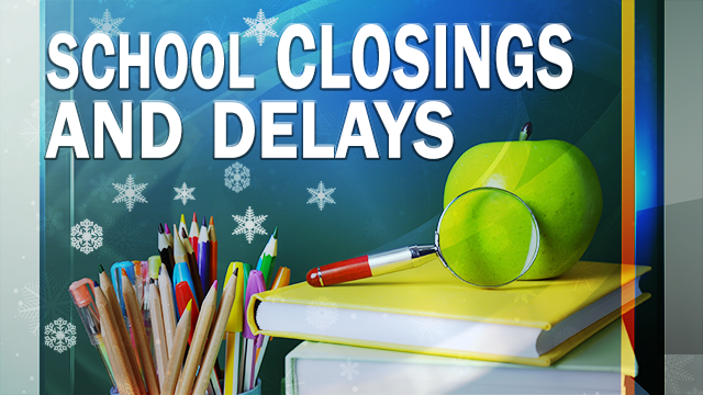 School, business closings for Tuesday due to winter weather
