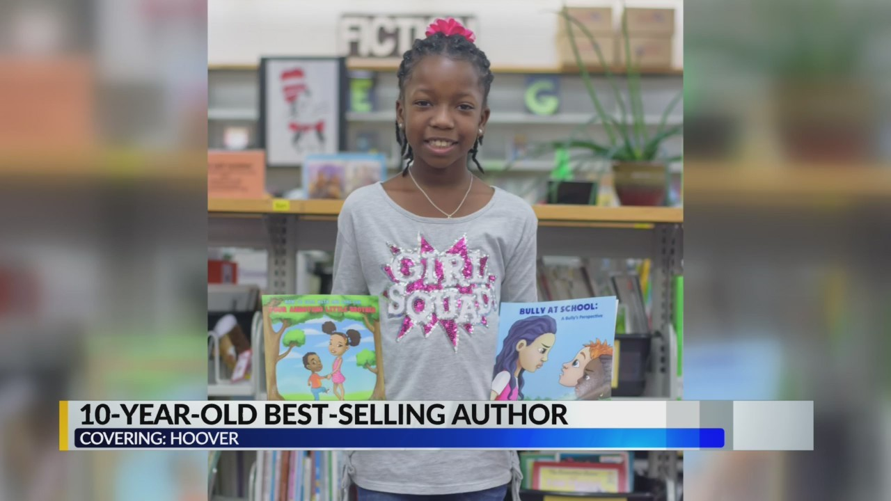 10-year-old best-selling author from Hoover