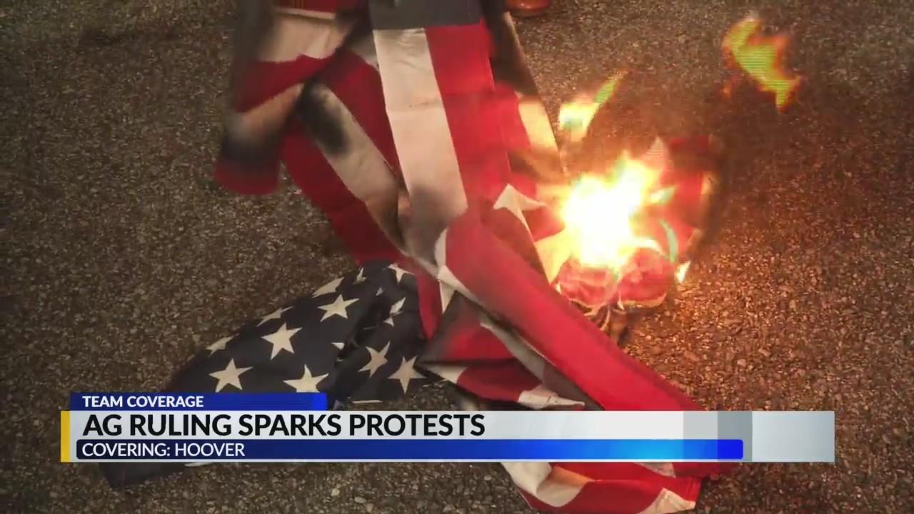 AG Ruling Sparks Protests