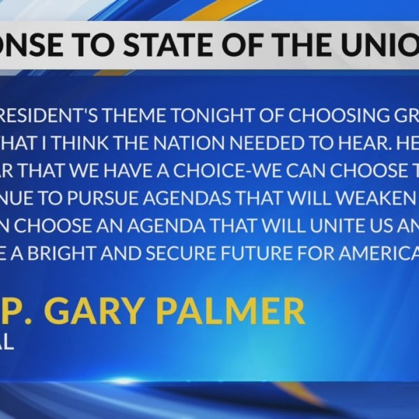 AL representatives react to State of the Union address