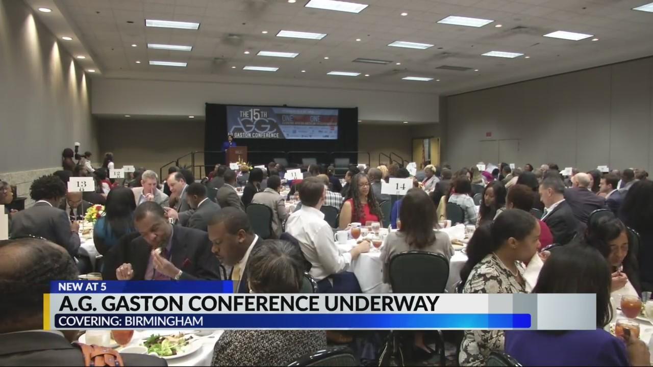 A.G. Gaston conference underway