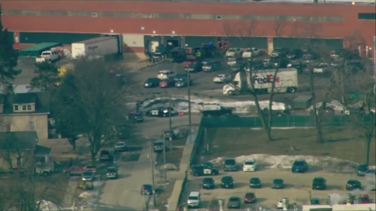 Active shooter situation in Aurora, Illinois