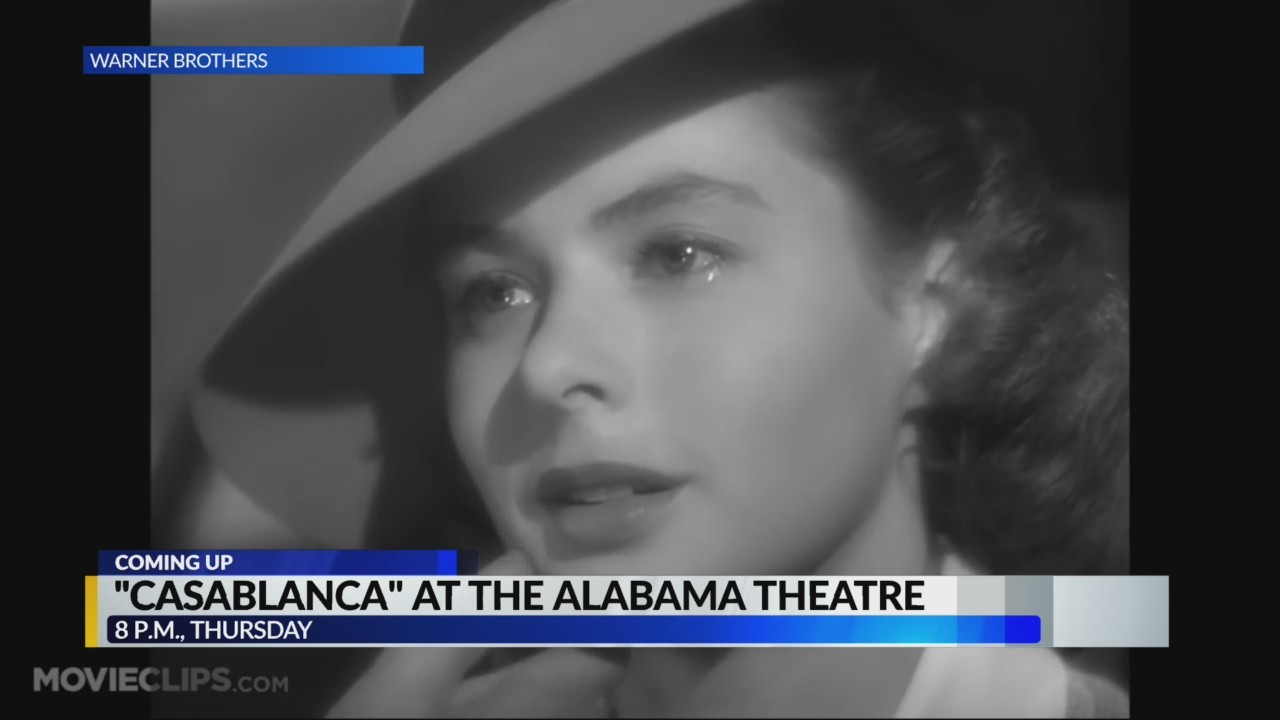 "Alabama Theatre plays ""Casablanca"" for Valentine's day"