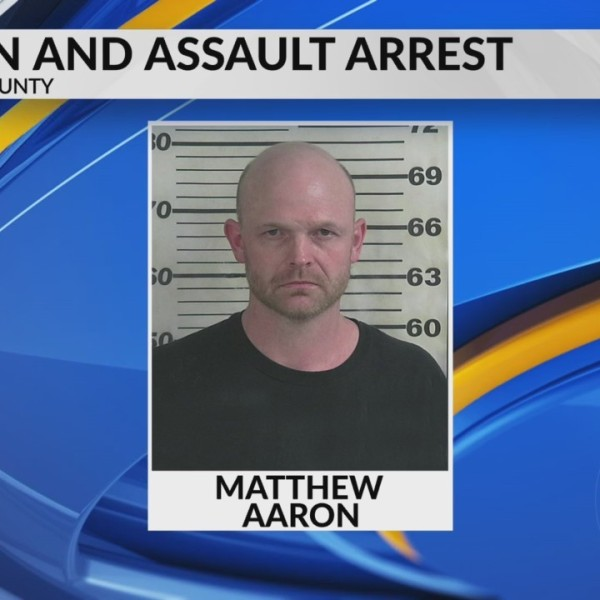 Arson and assault arrest in Cullman Couty