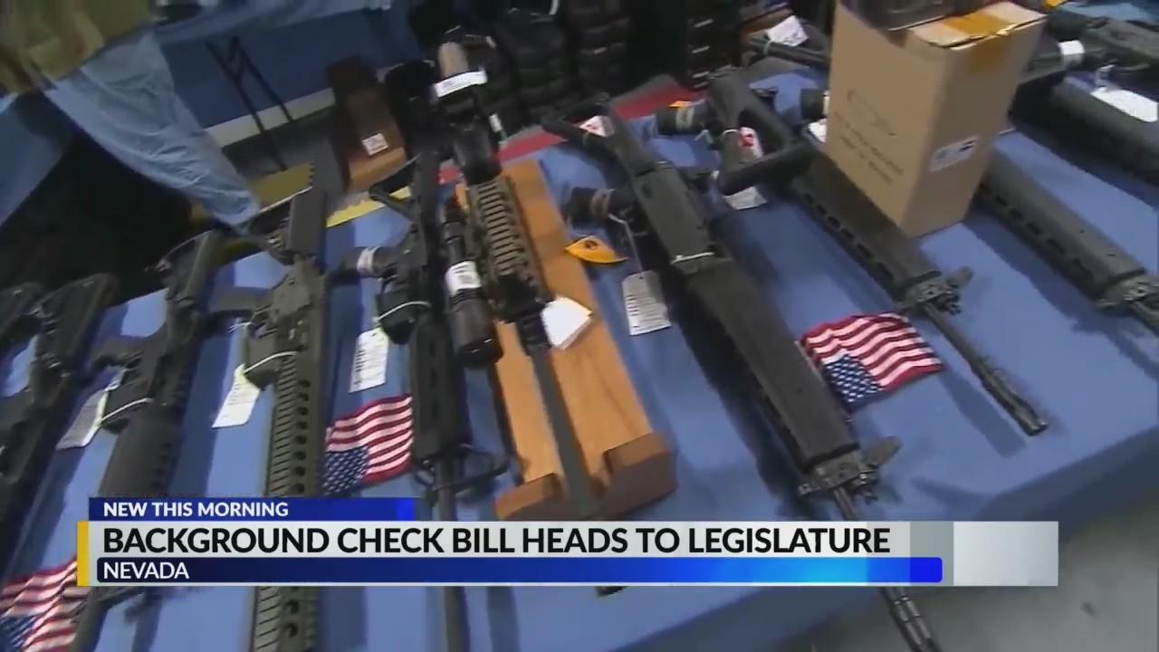Background check bill heads to legislature