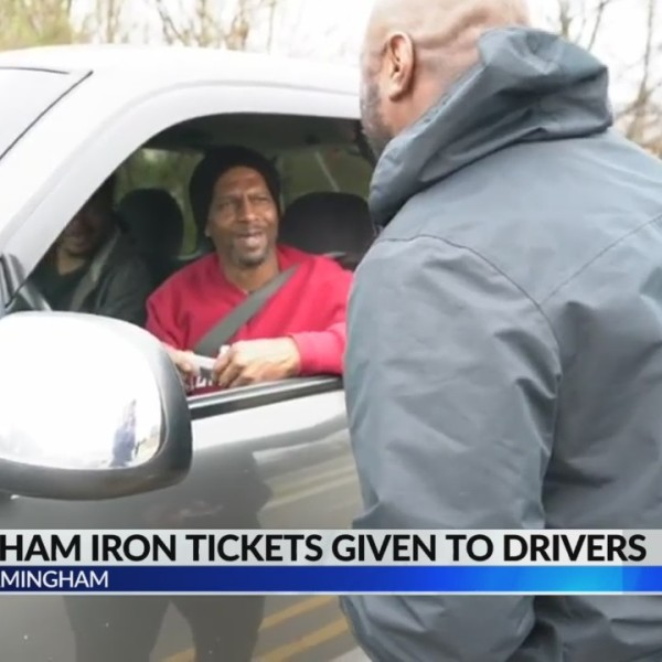 Birmingham Iron tickets given to drivers