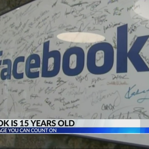 Facebook turns 15 today
