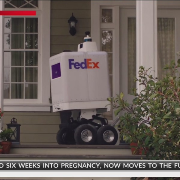 FedEx Rolls Out New Delivery Option -- Robots -- With SameDay Bot Service