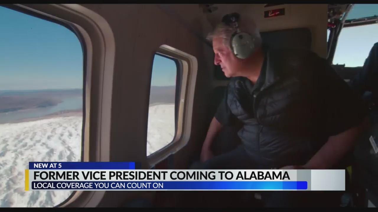 Former VP Al Gore coming to Alabama