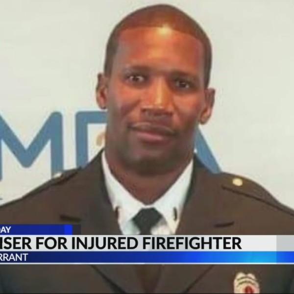 Fundraiser set for injured Tarrant firefighter