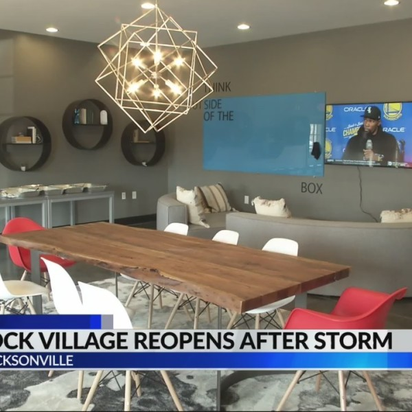 Gamecock village reopens after storm