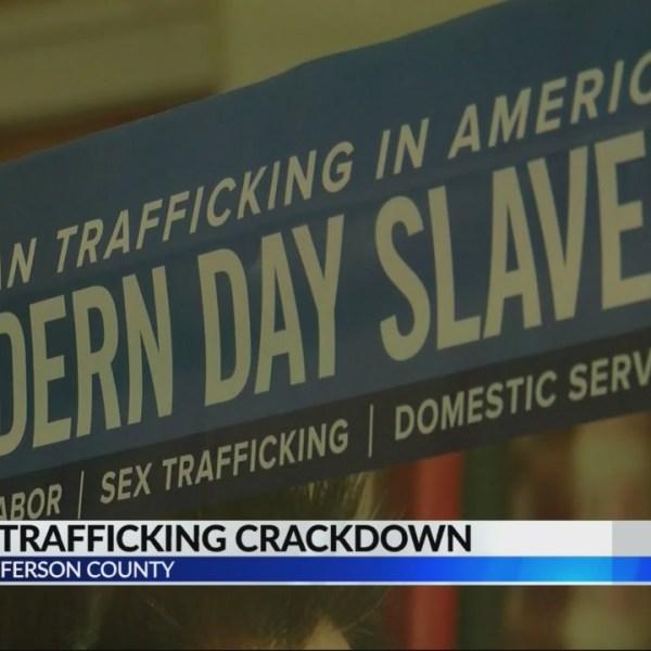 Human trafficking crackdown