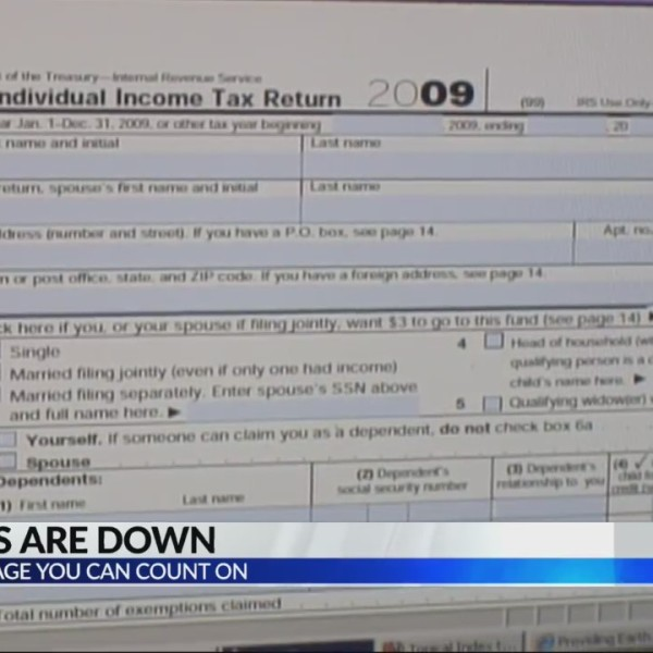 IRS refunds down