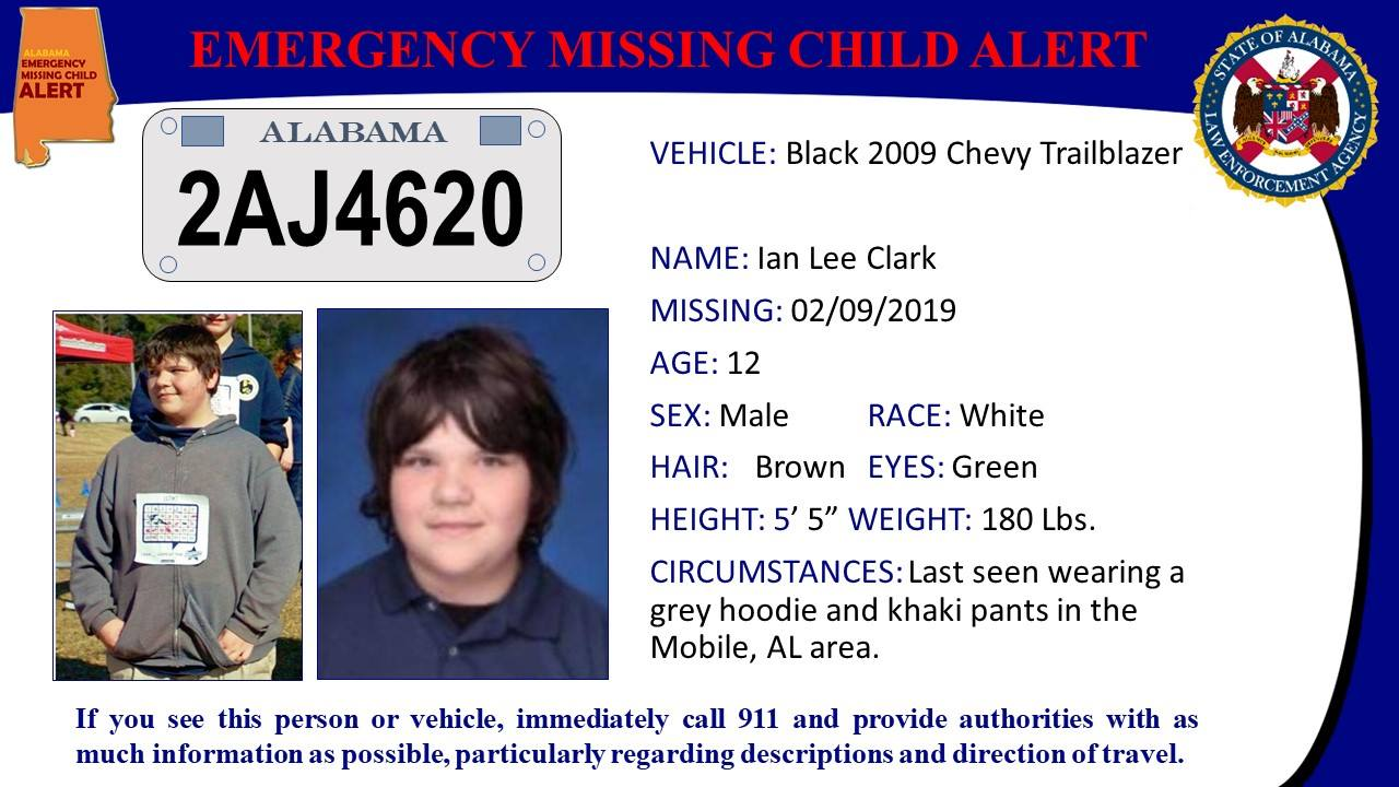 Mobile Police Department searching for missing 12-year-old