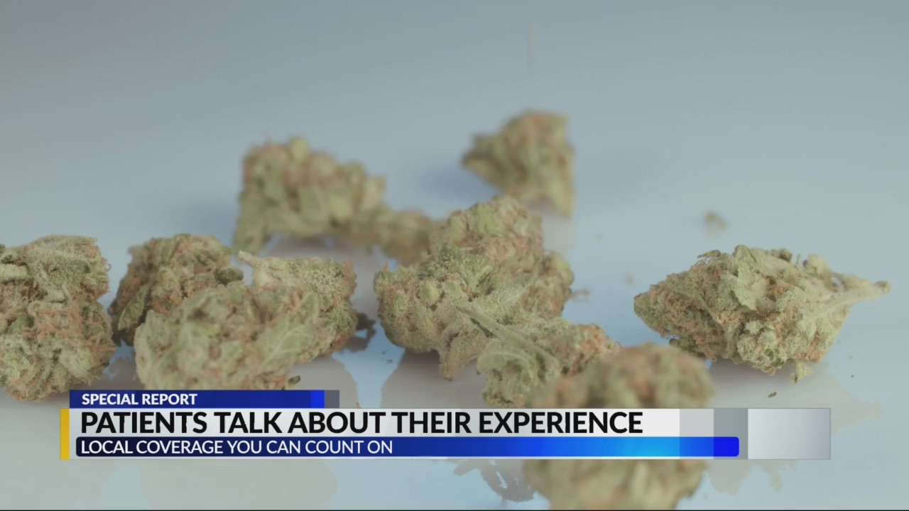 Patients talk about experience with medical marjuana