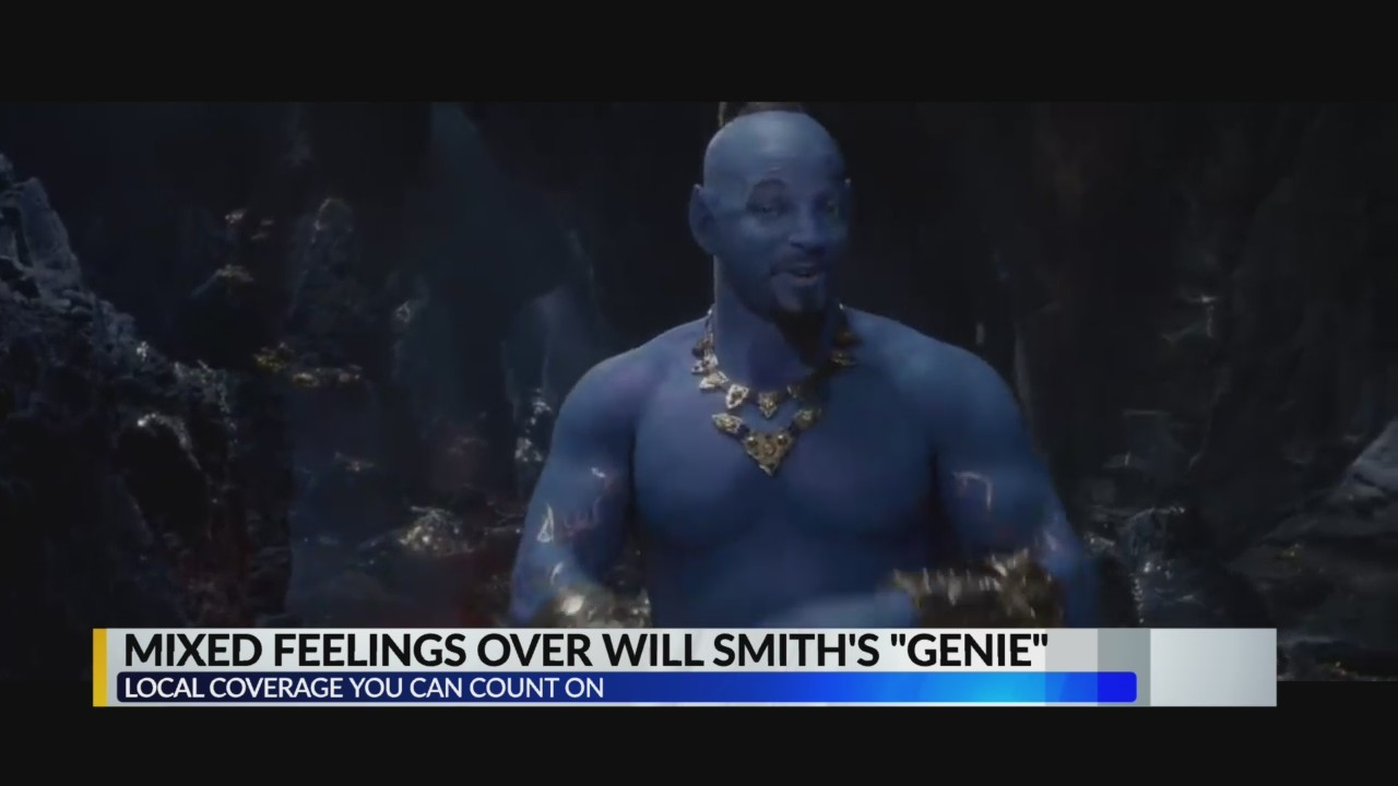 People are iffy over Will Smith's genie