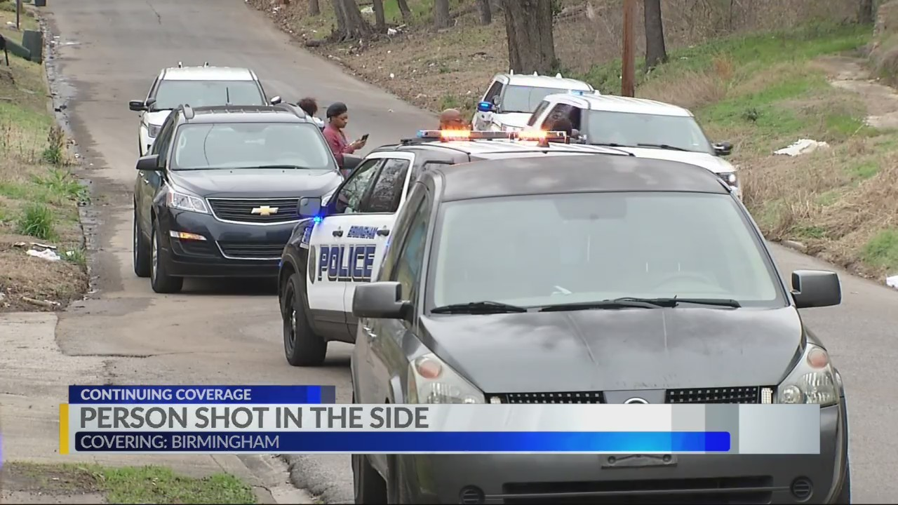 Person shot at 18th Place North, Birmingham