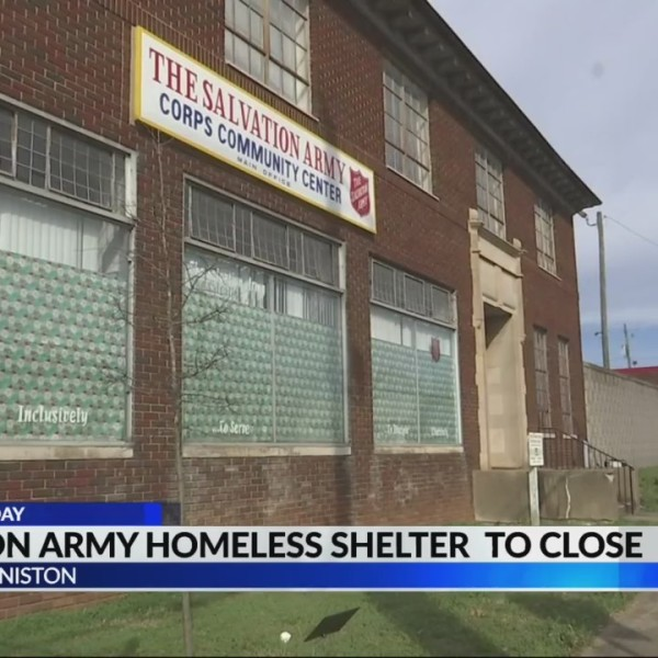 Salvation Army homeless shelter in Anniston to close