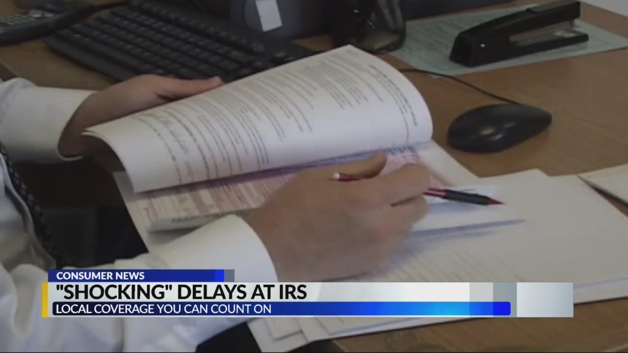 """""""Shocking"""" delay at IRS"""