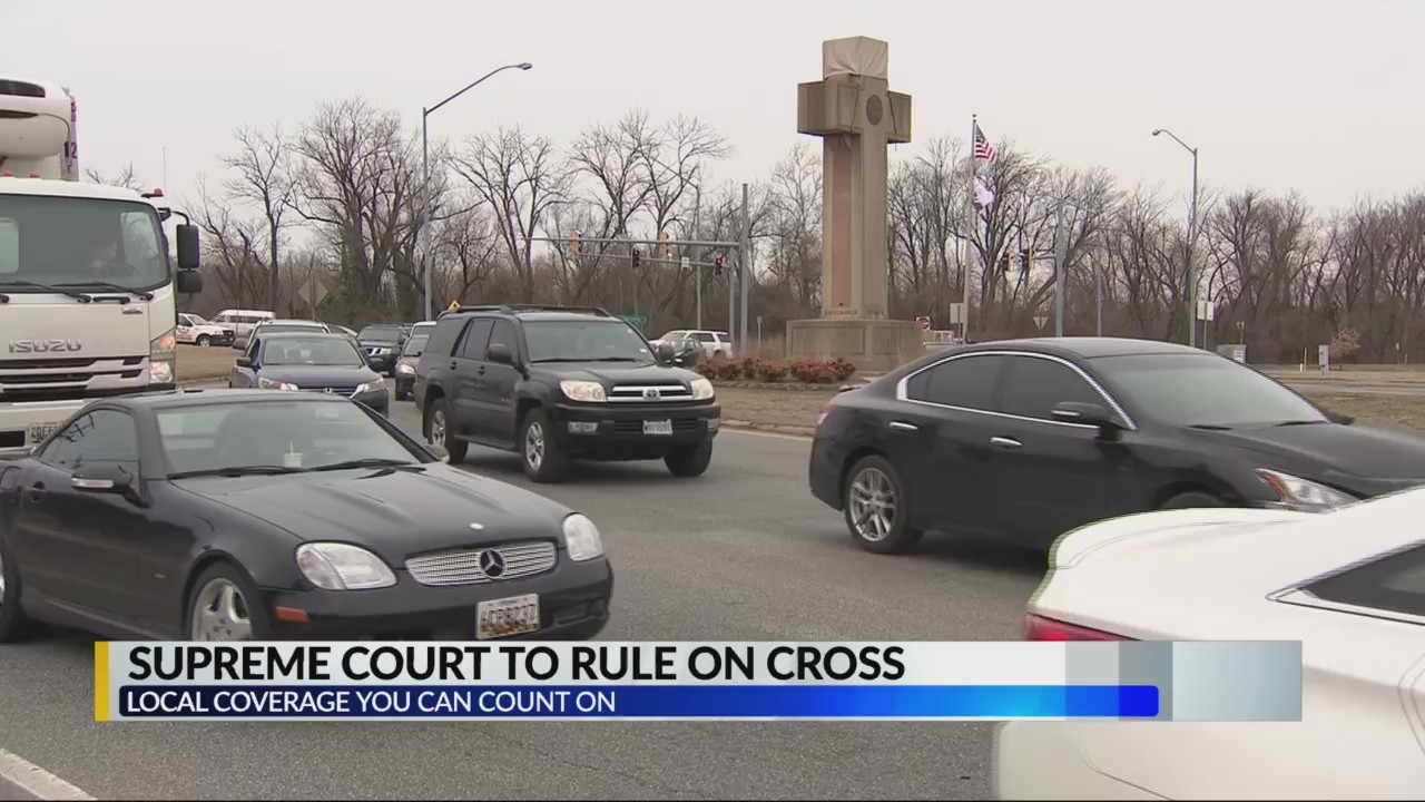 Supreme Court to rule on Maryland cross