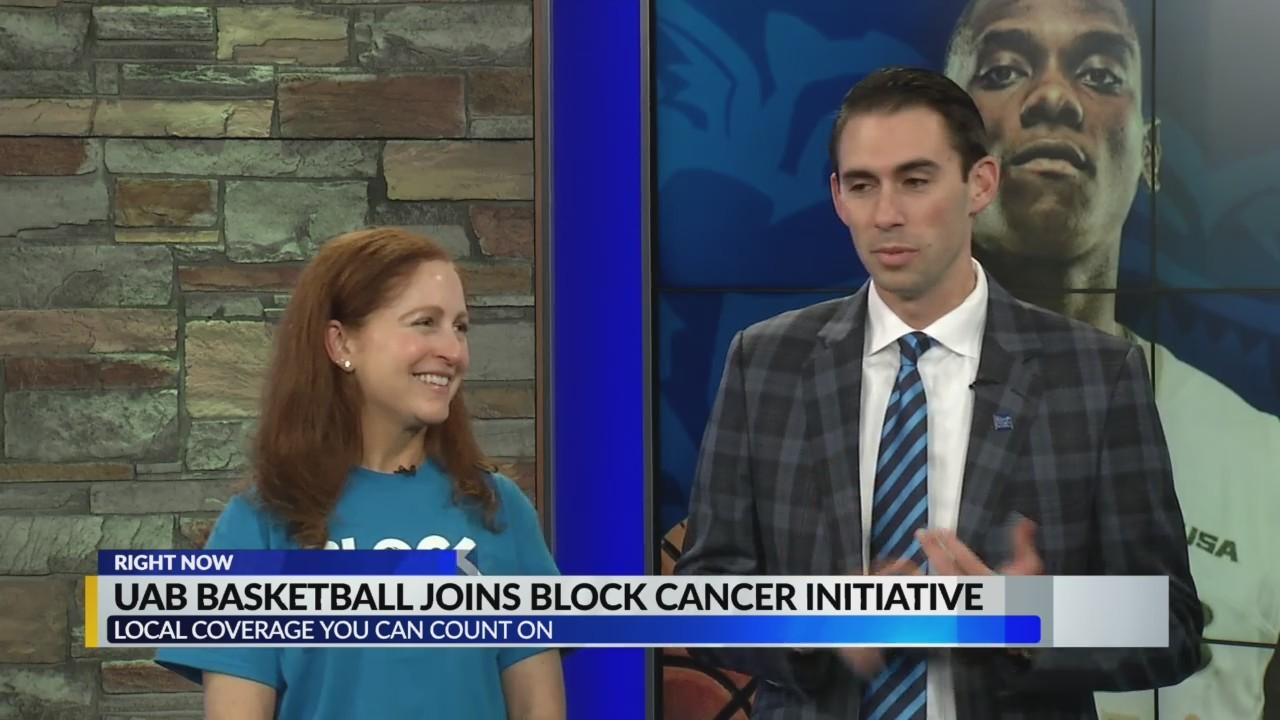 UAB Basketball joins Block Cancer Initiative