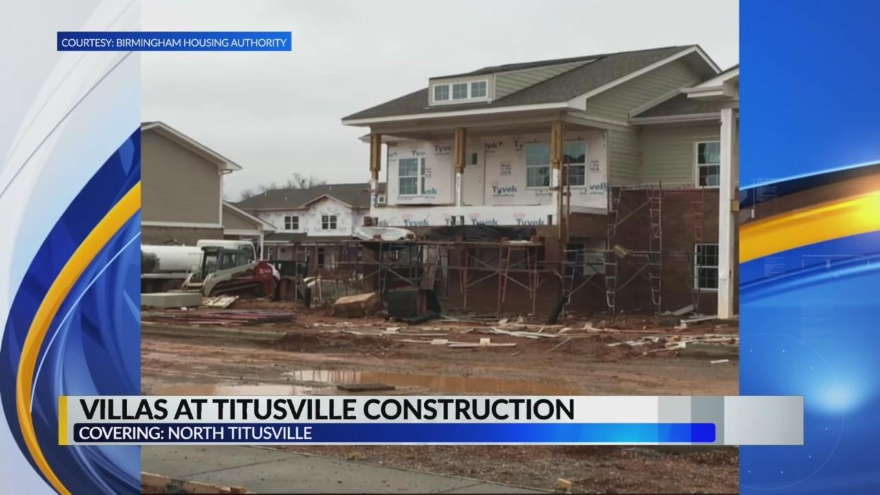 Villas at Titusville construction underway