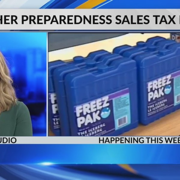 Weather Preparedness sales tax holiday starts today!