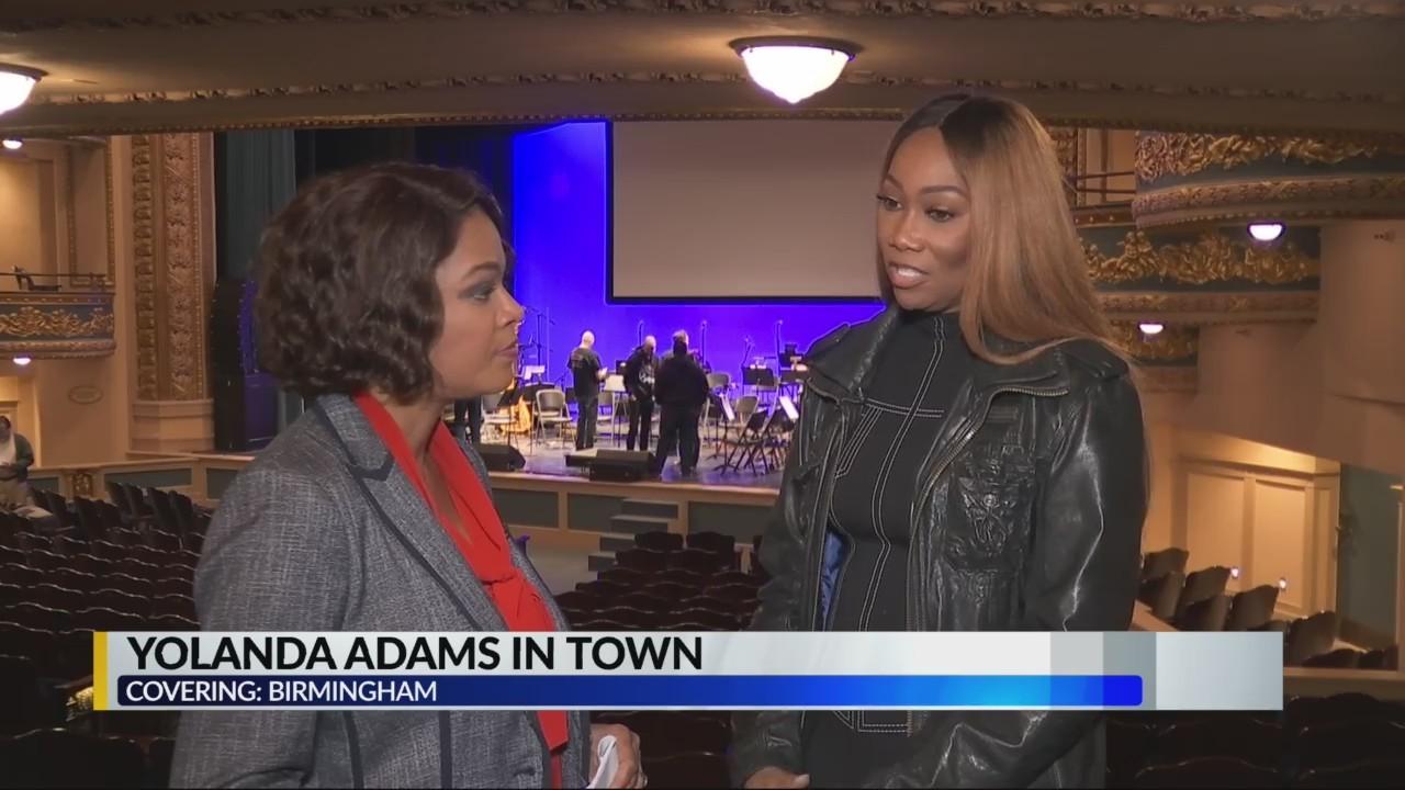 Yolanda Adams in Birmingham