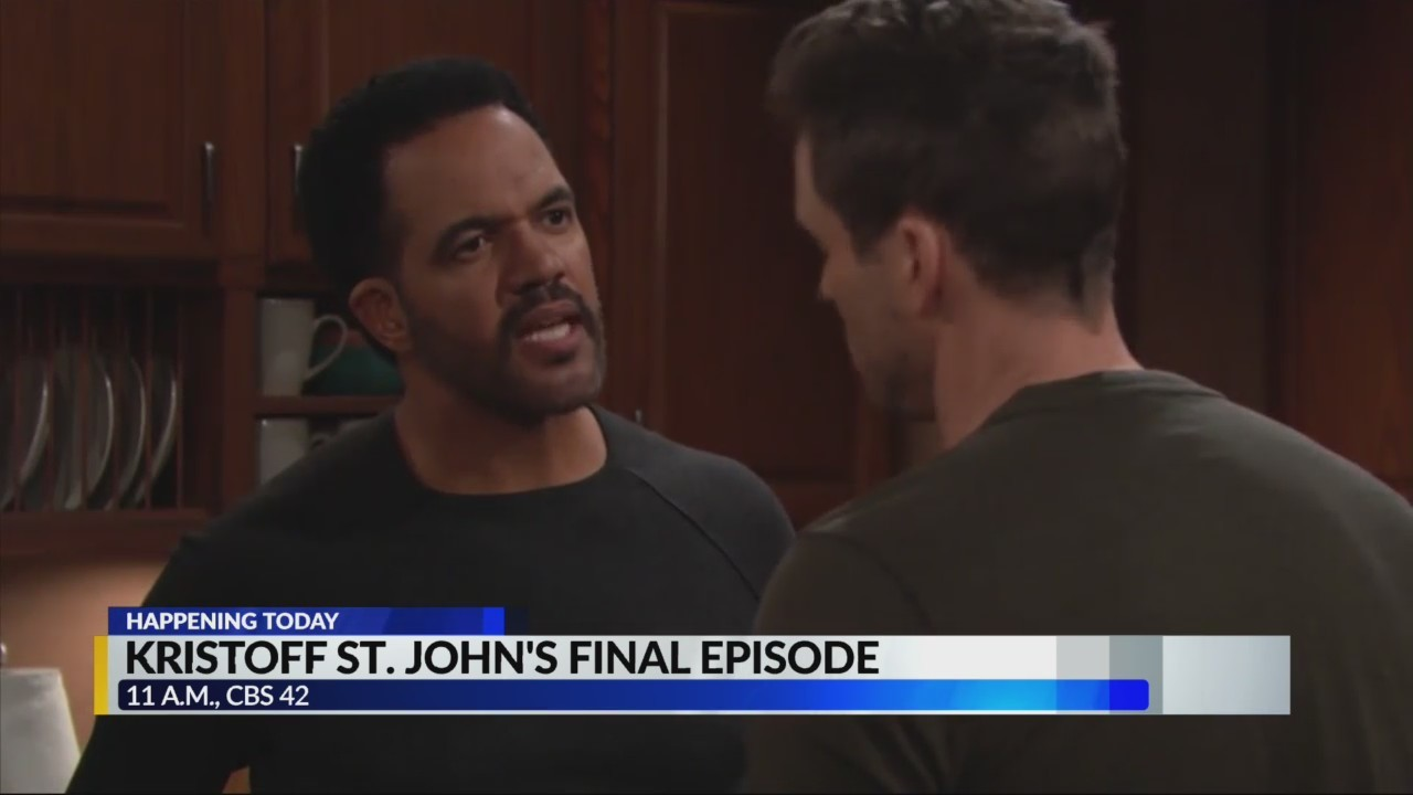 TODAY: The Young and the Restless airs Kristoff Saint John's
