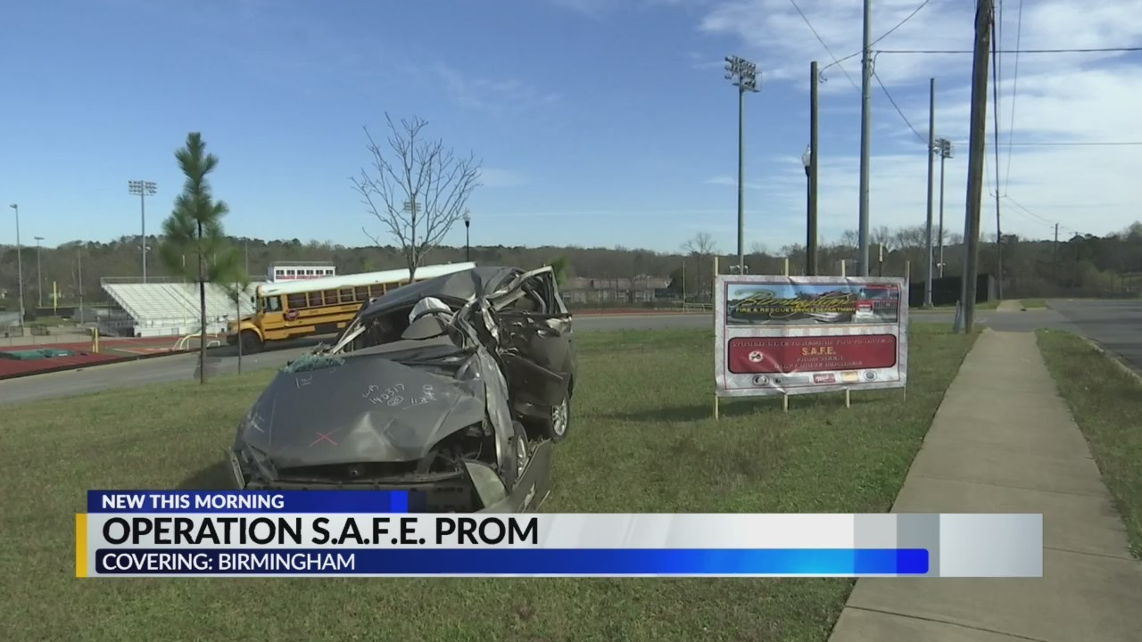 Birmingham Fire kicks off 'Operation Safe Prom'